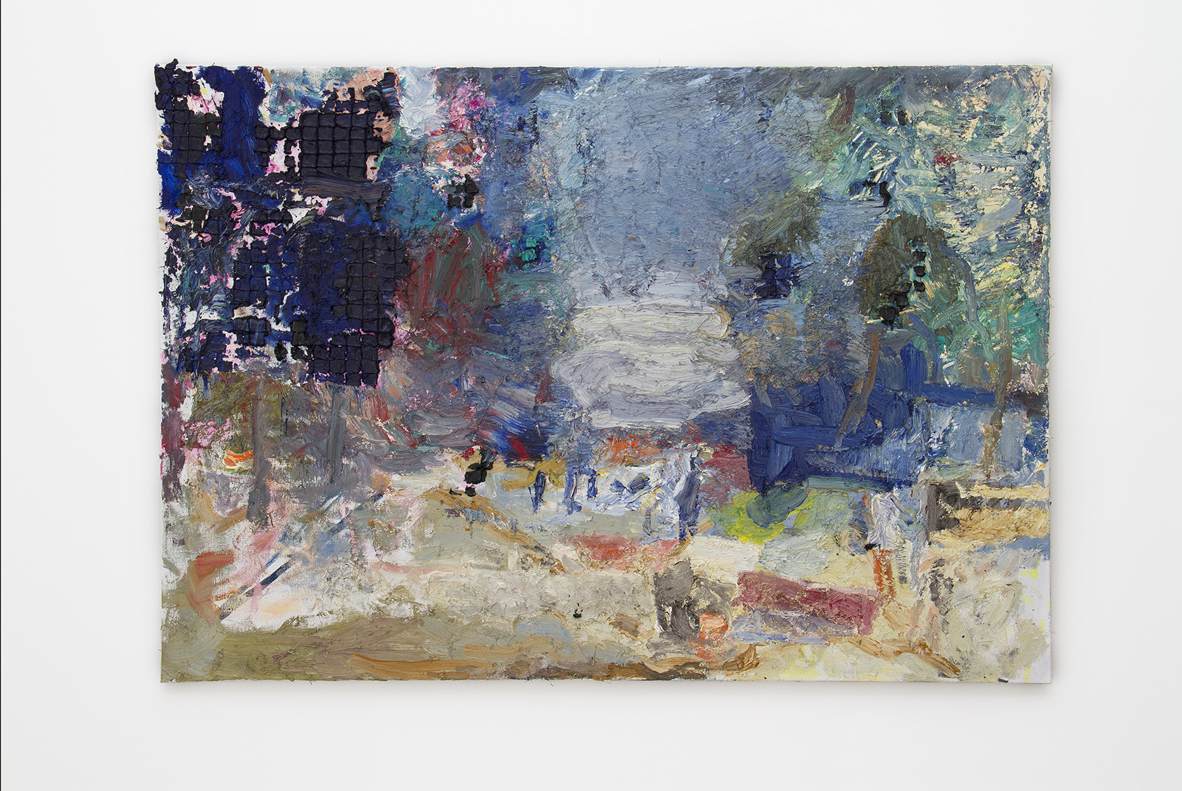 17. Park, 2015, oli on canvas, 90 x 130 cm